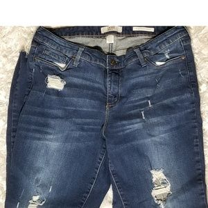 Vintage America Blues Distressed Jean's 12/31